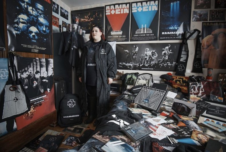 La collaborazione dark tra Balenciaga e i Rammstein
