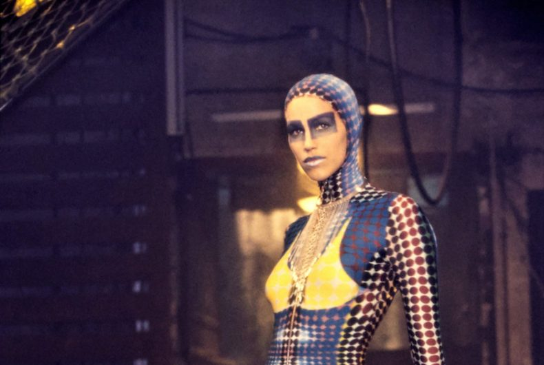 """The """"Cyber"""" collection of 1995 by Jean-Paul Gaultier"""