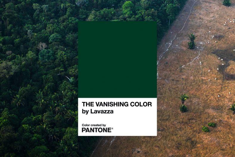 The Vanishing Color: Lavazza e Pantone insieme per l'Earth Day