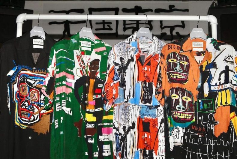 The new collaboration between WACKO MARIA and Jean-Michel Basquiat