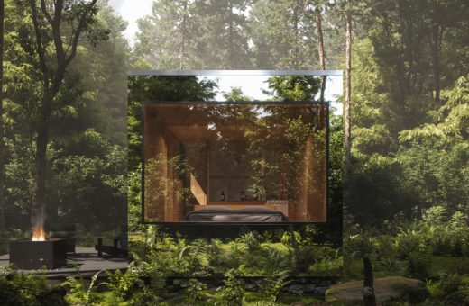 Arcana, the invisible cabins where you can reconnect with nature