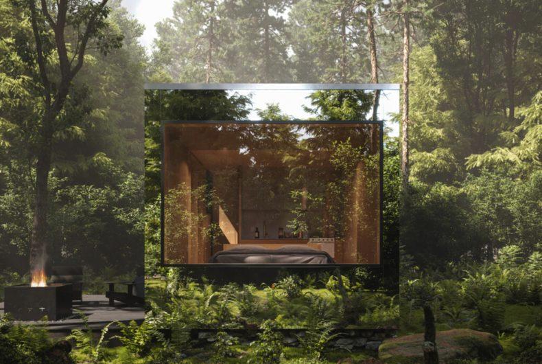 Arcana, le cabine invisibili dove riconnettersi con la natura