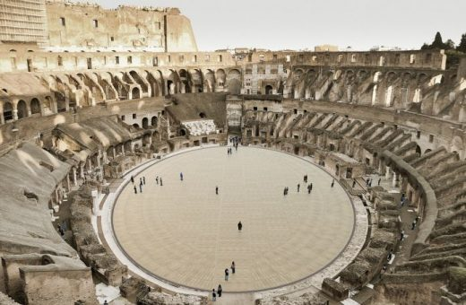 The new Colosseum arena will be ready in 2023