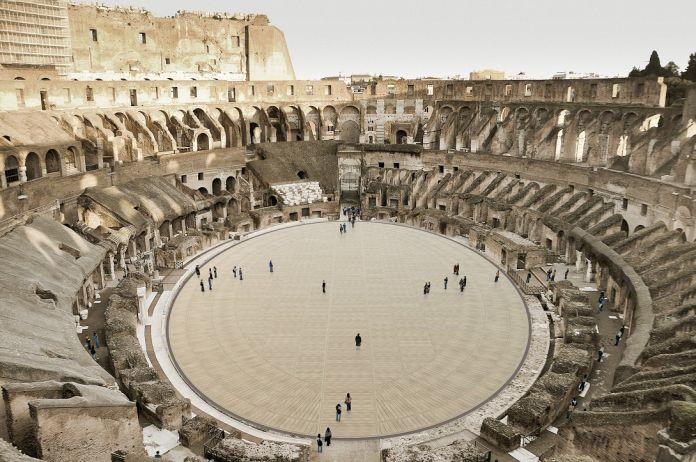 La nuova arena del Colosseo sarà pronta nel 2023