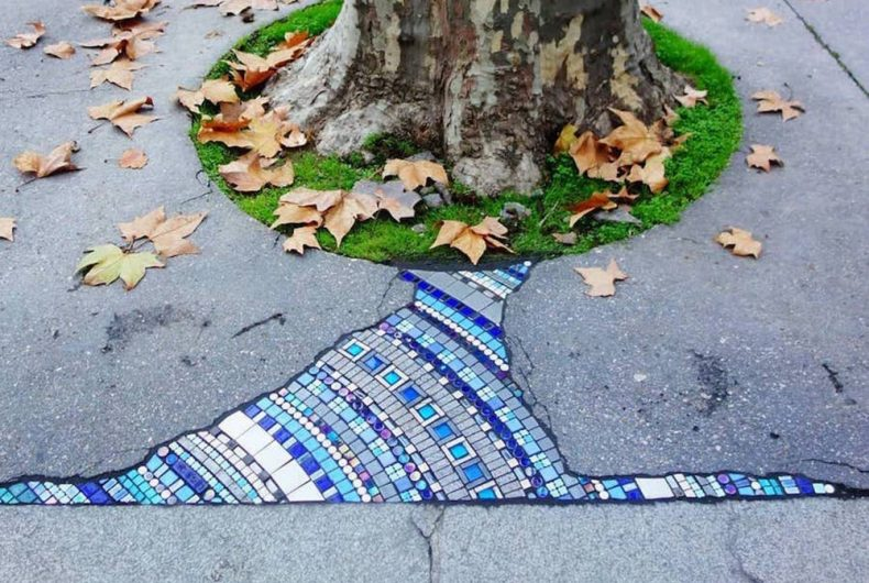 Il Flacking e la street art di Ememem