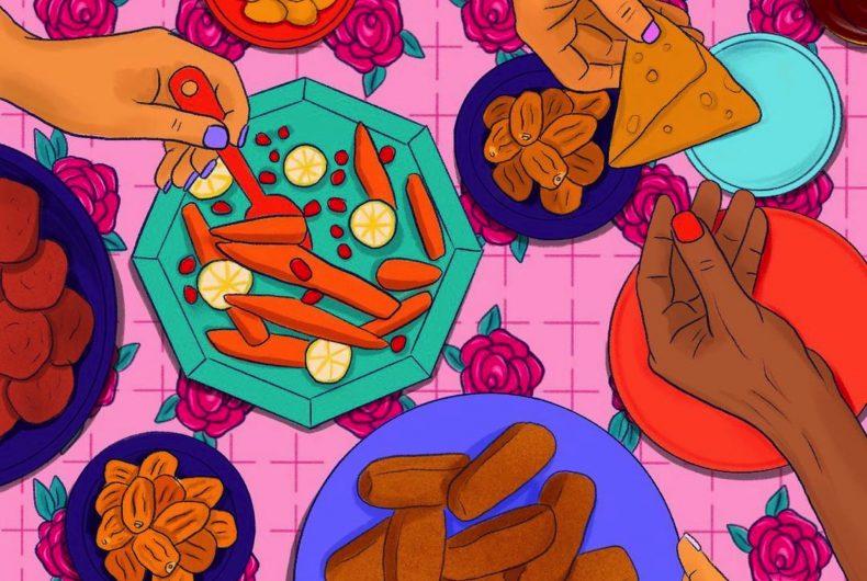 Le illustrazioni di Hala AlAbbasi per celebrare il Ramadan