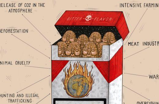 """""""Human Kill"""", l'illustrazione di Luca Ledda"""