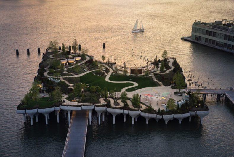 Little Island, il parco-isola inaugurato a New York