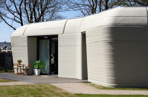 Milestone Project, Europe's first 3D printed house