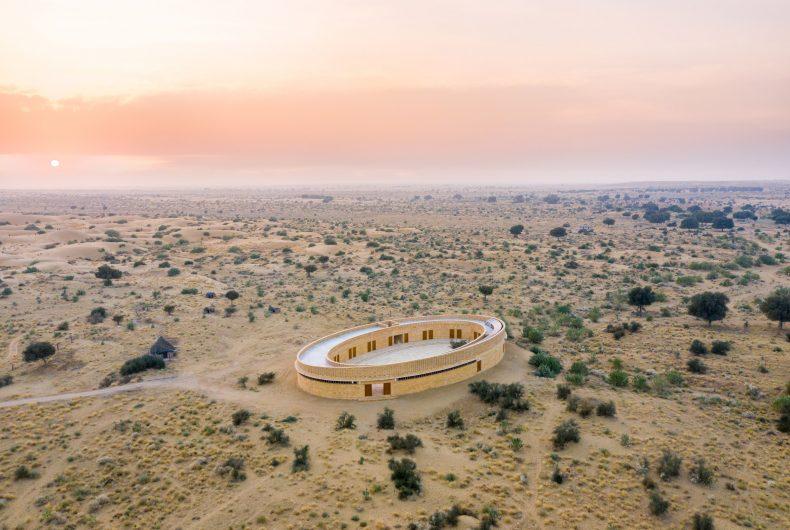 La scuola nel cuore del deserto del Rajasthan