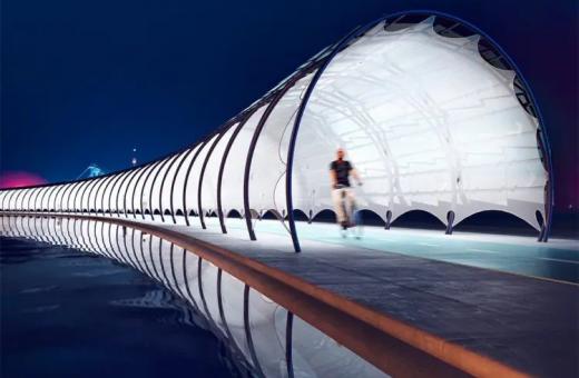 Solar Veloroute, the bike path of the future