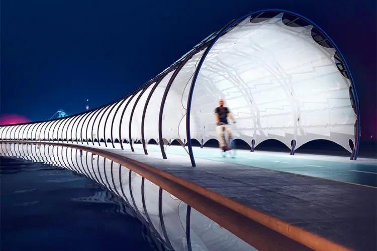 Solar Veloroute, la pista ciclabile del futuro