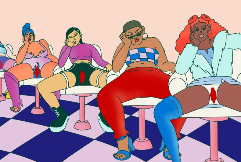 """Typically"" for World Menstrual Hygiene Day"