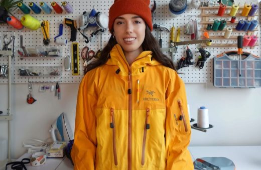 Nicole McLaughlin is the first design ambassador for Arc'teryx