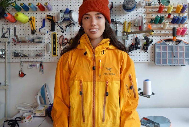 Nicole McLaughlin è la prima design ambassador di Arc'teryx