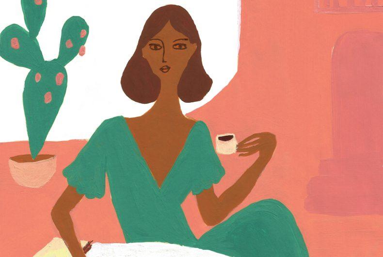 Le illustrazioni di Giulia Sollai, tra estate e femminilità