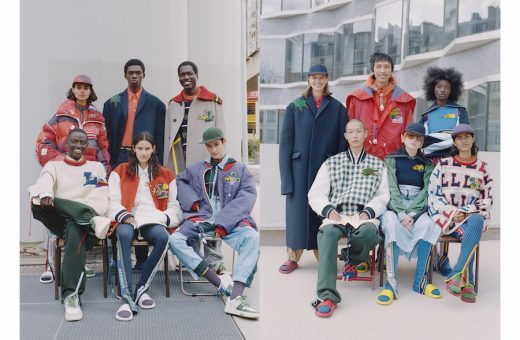 Lacoste FW 21 collection designed by Louise Trotter