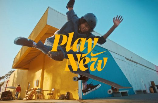 """Play New"", Nike's new campaign"