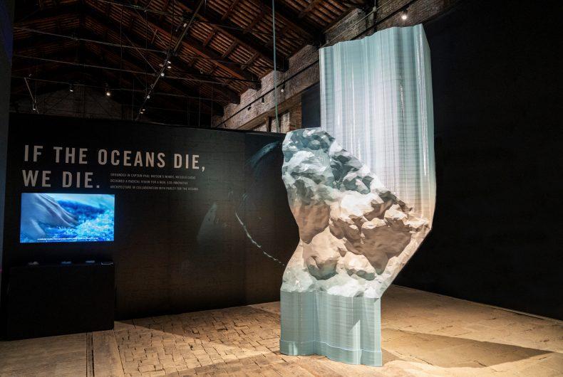 """""""Plasticity"""", l'installazione di Niccolo Casas alla Biennale di Venezia"""