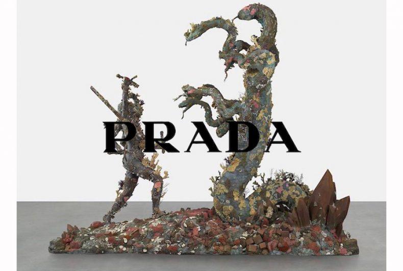 Prada sponsors the Damien Hirst exhibition at Galleria Borghese