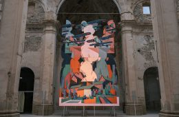 La ruina, Aryz's work in the church of Sant Pere in Spain