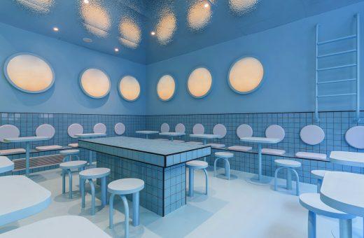 Al Bun Burgers di Torino sembra di mangiare in una piscina