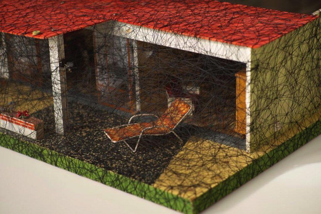 Living Inside Chiharu Shiota | Collater.al-001