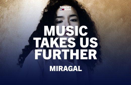 """L'Raï'n'B di Miragal per """"Music Takes Us Further"""" di Tommy Jeans"""