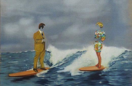 I dipinti surreali di Olivia Bloch-Lainé