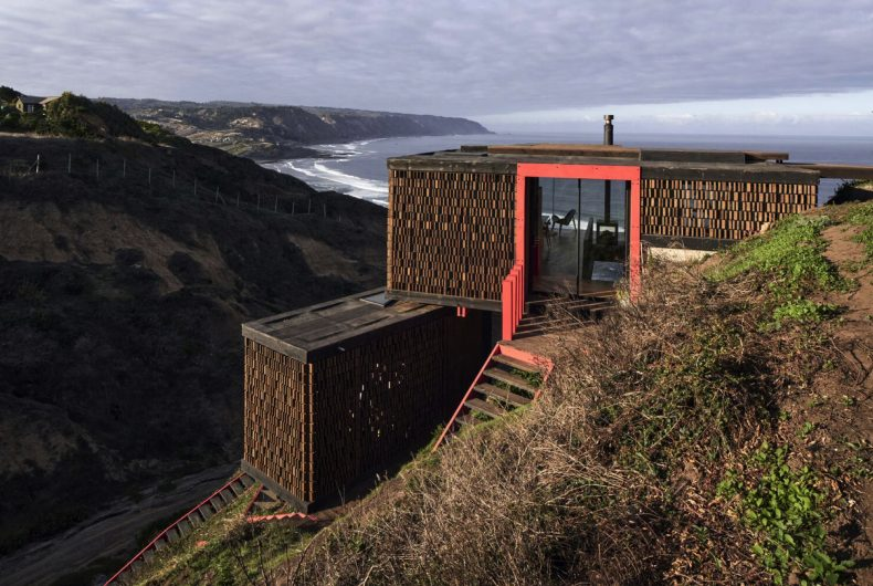 Panal House, la casa-rifugio affacciata sull'oceano
