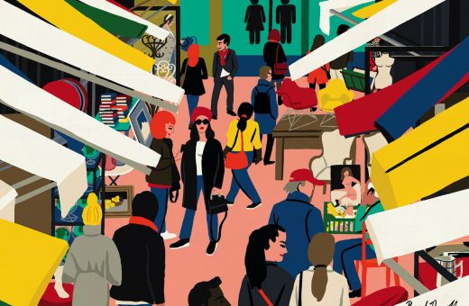 The world through the illustrations of Paul Thurlby