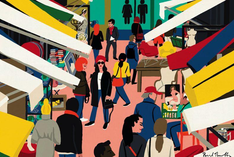 Il mondo attraverso le illustrazioni di Paul Thurlby