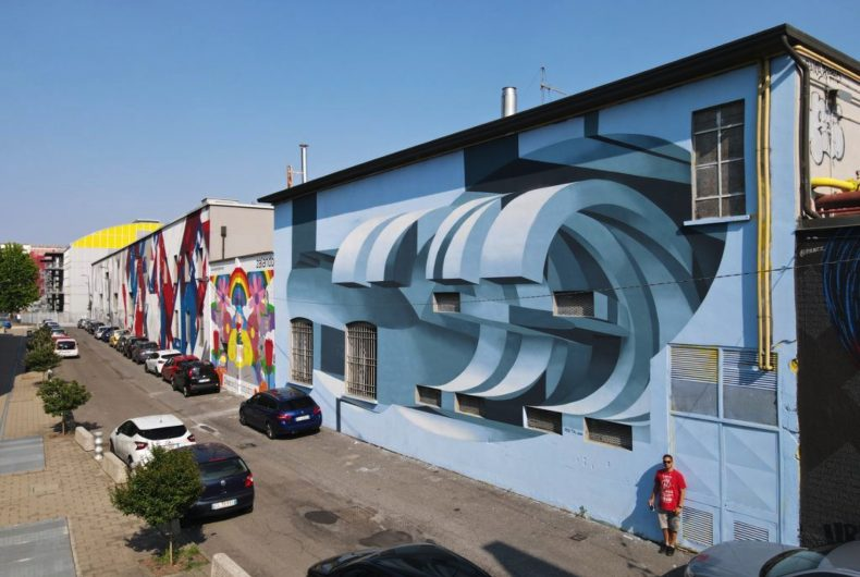 2000 m² di murales per il quartiere milanese Bovisa