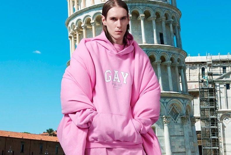 La collezione di Balenciaga che celebra il Pride Month 2021