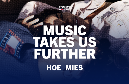 The Berlin-based DJs of Hoe__mies in the latest Tommy Jeans campaign