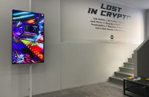 """""""LOST IN CRYPTO"""", the first exhibition dedicated to Crypto Art in Italy"""