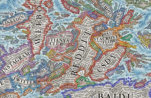Map of the Internet, il nuovo progetto di Martin Vargic