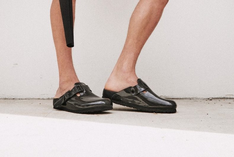 """The new """"All-Black"""" collaboration between Rick Owens and Birkenstock"""