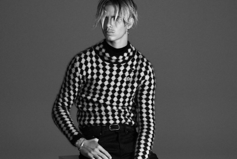 Il lookbook Fall/Winter 2021 di Saint Laurent con Romeo Beckham
