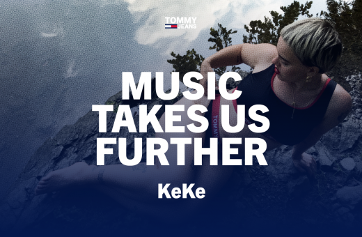 KeKe's fresh and original sound for TOMMY JEANS