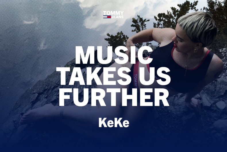 Il sound fresco e originale di KeKe per TOMMY JEANS
