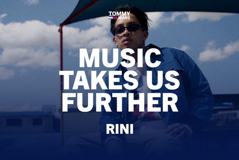 L'originale R&B di RINI per TOMMY JEANS