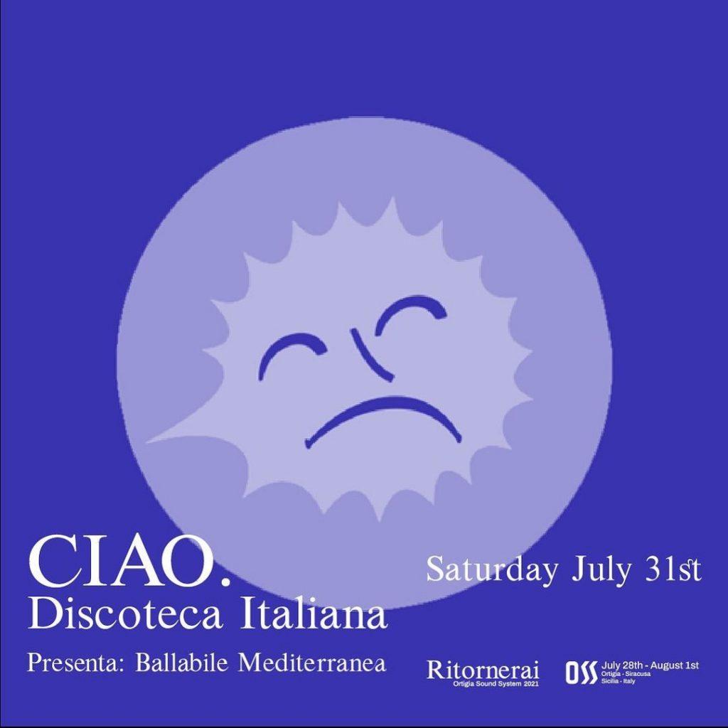 CIAO. Discoteca Italiana
