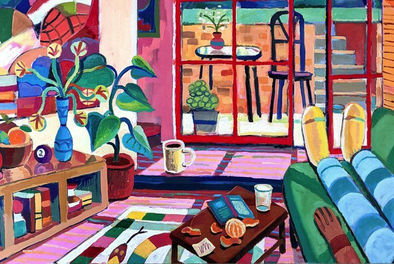 Solitudine e colori, l'arte di Andrés Lozano
