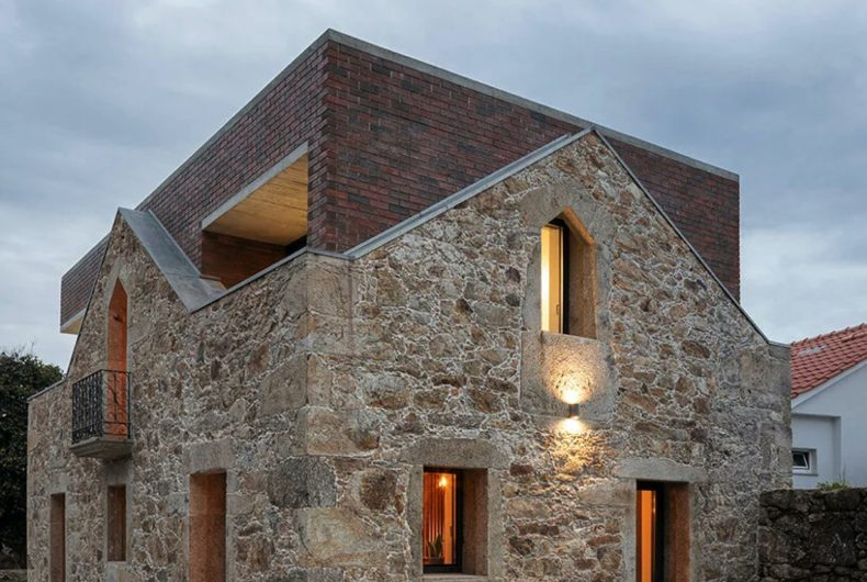 Box House, a house built inside a house
