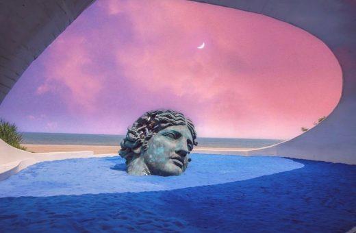 Sands of Time, la personale di Daniel Arsham tra sabbia e grotte