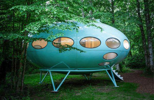 Ora è possibile alloggiare in una Futuro House di Matti Suuronen