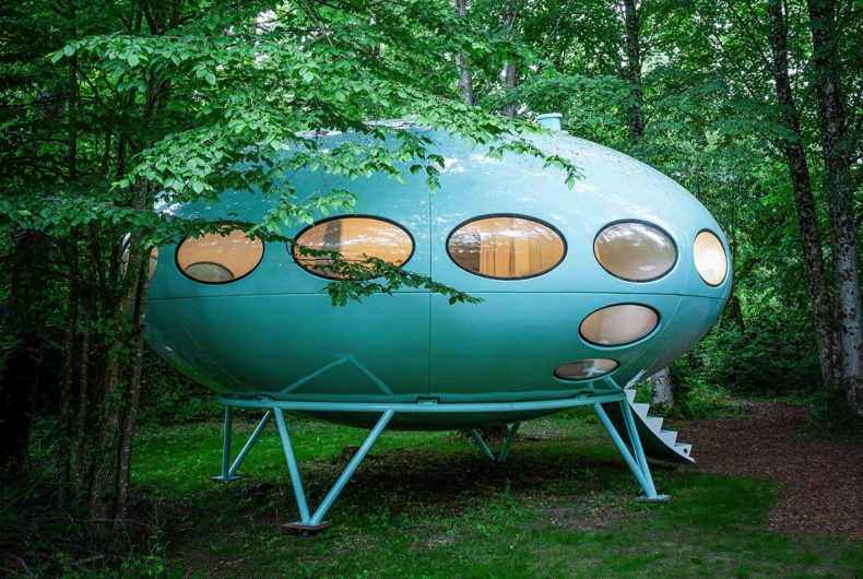 Now you can stay in a Futuro House by Matti Suuronen