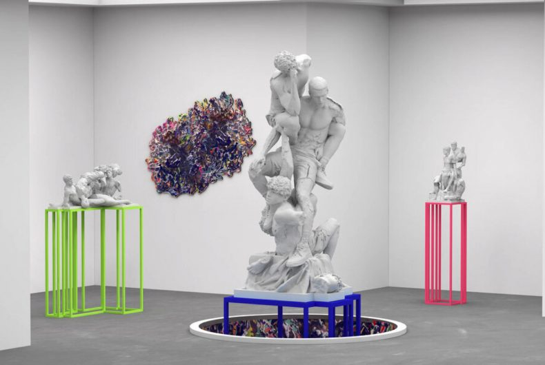 Jam Sutton's augmented reality sculptures