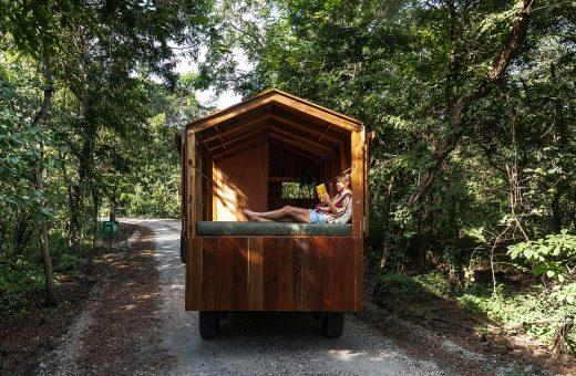 La Casa Nueva, la casa in legno e trasportabile ovunque